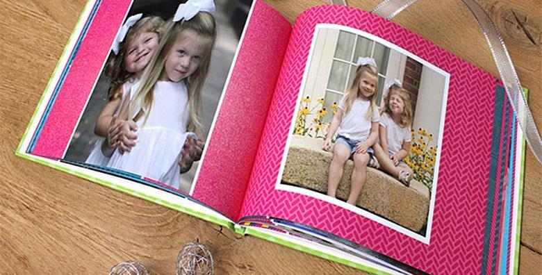Fotoknjiga XXL tvrdog uveza s 50 stranica u koju možete smjestiti više od 700 vaših najdražih fotografija za 199 kn!