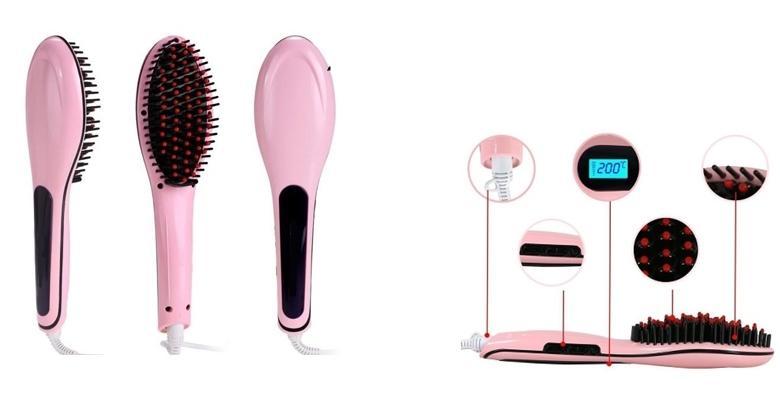 Električna četka za ravnanje kose - u samo nekoliko sekundi postignite željenu frizuru bez oštećenja vlasi za 199 kn!