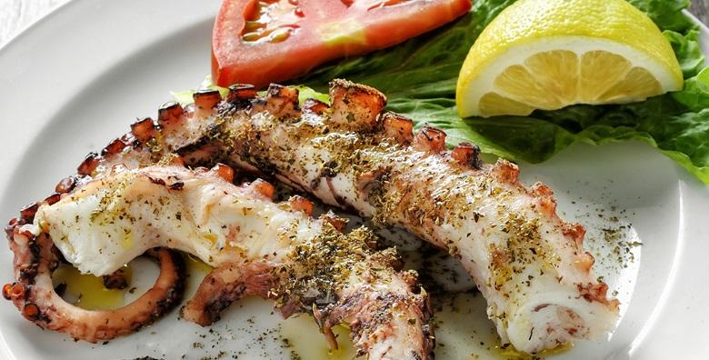 Hobotnica ispod peke s krumpirom ili istarski boškarin s lazanjama, juhom i desert za dvoje za 119 kn!