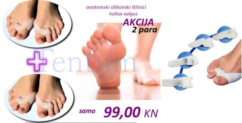 4 anatomska štitnika za deformirane nožne palčeve za 99 kn!