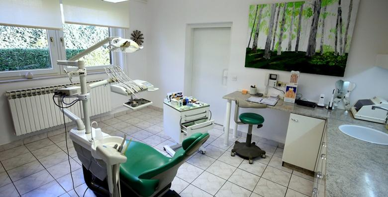 Plomba, stomatološki pregled, čišćenje zubnog kamenca, poliranje i konzultacije