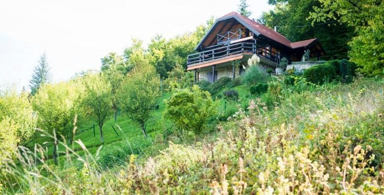 [SAMOBOR] Klet Padež*** - 2 ili 3 dana za dvoje u drvenoj kući koju okružuje netaknuta priroda od 399 kn!