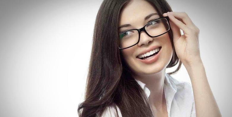 Progresivne naočale - dioptrijski okvir i višejakosne Esillor leće uz garanciju na prilagodbu za 1.990 kn!