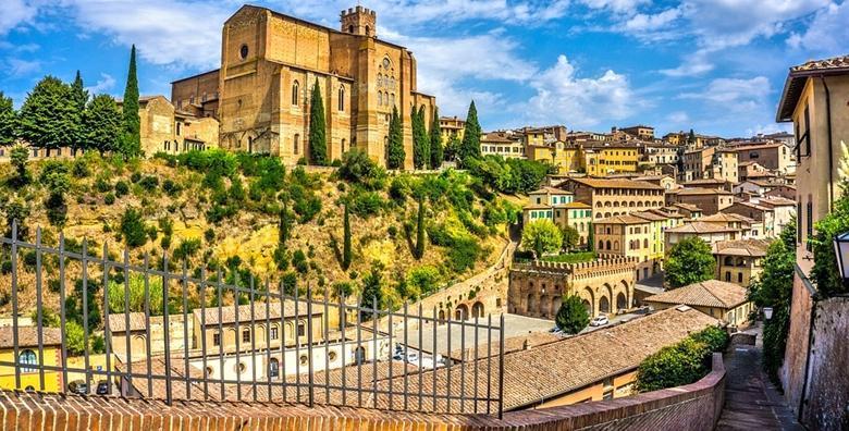 [TOSKANA] 4 dana s doručkom za dvije osobe u luksuznom Hotelu Executive**** u Sieni od 1.325 kn!