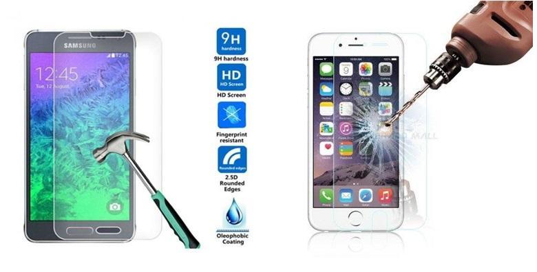 Kaljeno staklo za iPhone ili Samsung - ultra tanka i učinkovita zaštita od ogrebotina i loma ekrana za samo 39 kn!