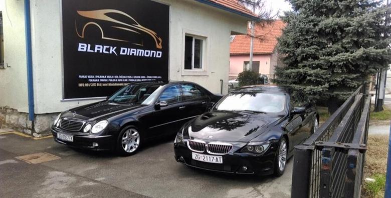 Poliranje automobila 3M ili Meguiras pastom, vanjsko pranje i premaz voskom u autopraonici Black Diamond za 249 kn!