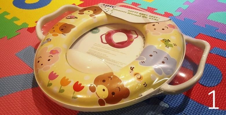 WC daska za djecu - učinite mališanima početak korištenja toaleta zabavnim i sigurnim iskustvom za samo 69 kn!