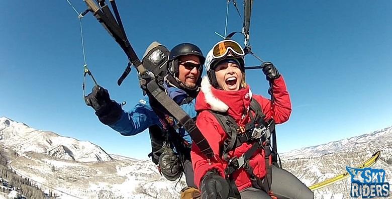 Paragliding - adrenalinski let u tandem letjelici s instruktorom  za 549 kn!