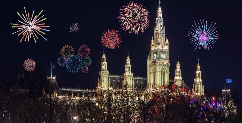 [NOVA GODINA] Dočekajte 2017. u Beču uz spektakularan vatromet, mnoštvo koncerata u sklopu Silvesterpfada i posjet Bratislavi za 1.290 kn!