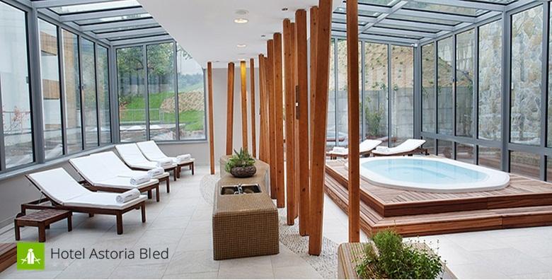 Bled, Hotel Astoria***- 3 wellness dana s doručkom za dvoje uz bazen, saune i masažu za 1.163kn!