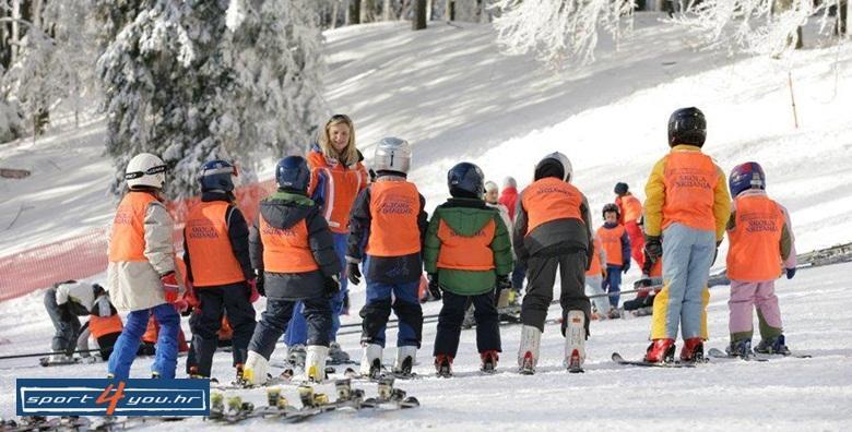 Škola skijanja na Sljemenu - 2 dana s uključenom opremom