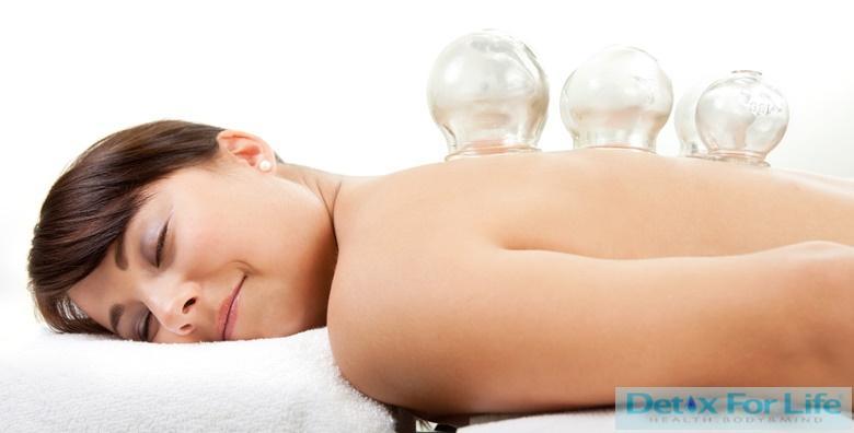 [CUPPING MASAŽA] Vakuum terapija u studiju Detox For Life za 125 kn!