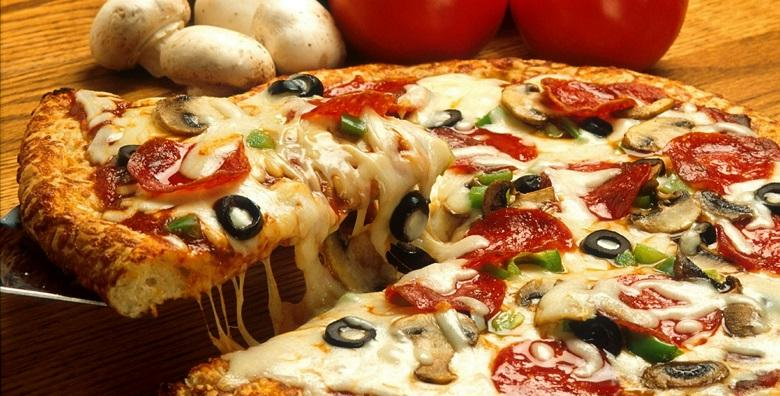 2 velike mješane pizze