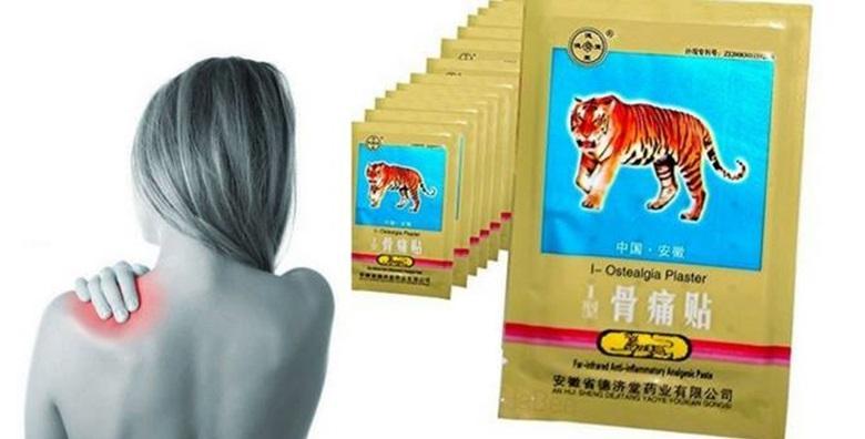 Flasteri od tigrove masti - riješite bolove u hodu uz 3 paketa za samo 39 kn!