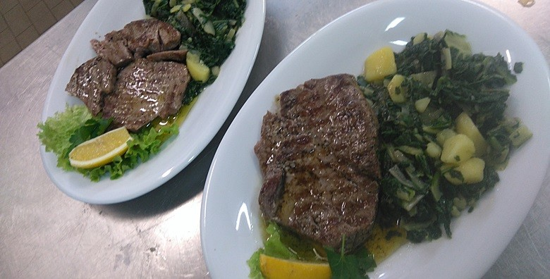 Tuna steak na žaru, rezanci s kozicama, predjelo iznenađenja - slika 2