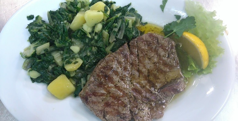 Tuna steak na žaru, rezanci s kozicama, predjelo iznenađenja - slika 3