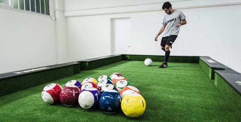 [FOOTPOOL] Zabavite se uz neobičnu kombinaciju biljara i nogometa - 2 sata najma terena za 4 osobe za 98 kn!