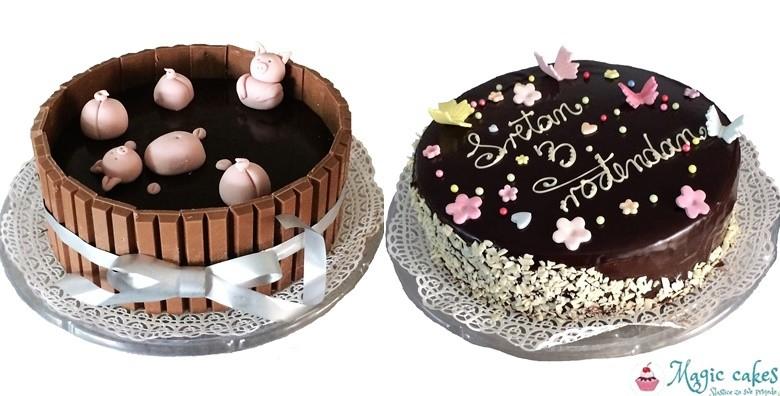 Ledeni vjetar ili čokoladna torta s natpisom - slika 7