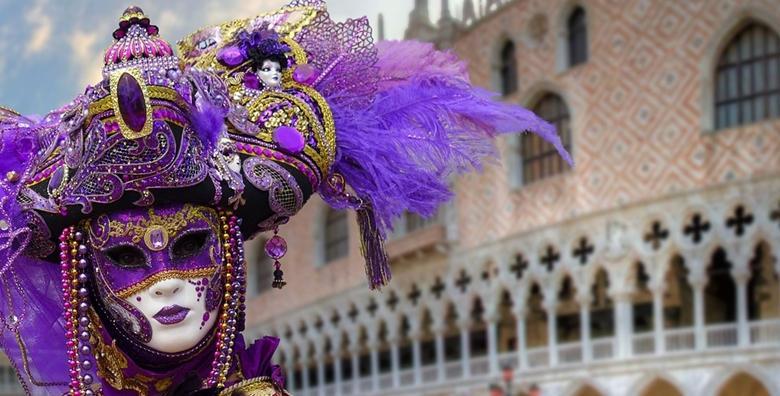 [KARNEVAL U VENECIJI] Zamaskirajte se i dobro zabavite u jednoj od najzanimljivijih talijanskih destinacija za 159 kn!