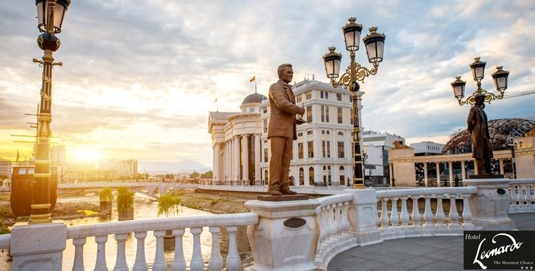 Skopje - 2 dana s doručkom za dvoje u Hotelu Leonardo***