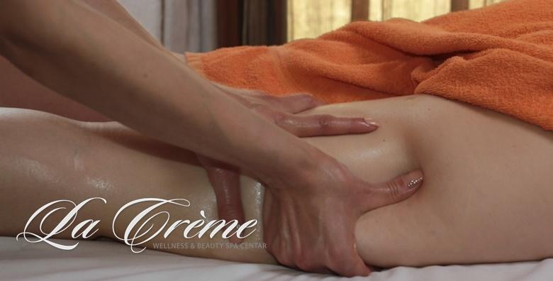 3 anticelulitne masaže, 3 body wrappinga i RF nogu