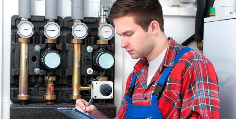 Servis plinskih bojlera + 50% popusta na kemijsko čišćenje