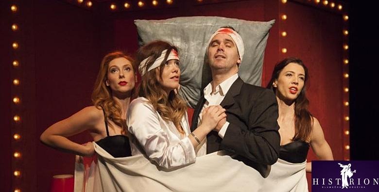 Predstava Na zlu putu - vječna tema muško ženskih odnosa ispričana kroz Krležine drame i pjesme velikog Arsena Dedića za 37 kn!