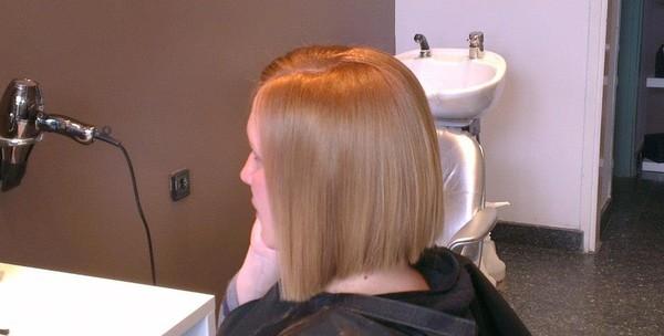 Pramenovi ili bojanje uz šišanje, njegu maskom i fen frizuru - slika 2