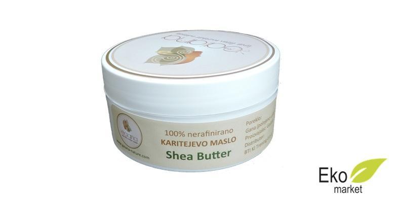 Shea maslac - 100% prirodan, nerafiniran