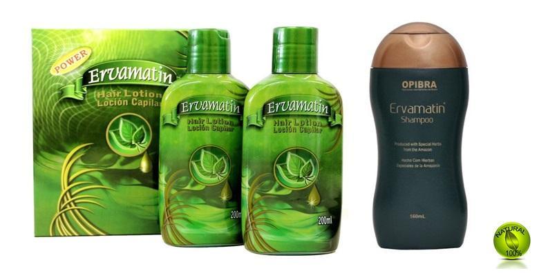 Ervamatin losion i/ili šampon protiv opadanja kose