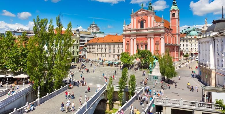 [LJUBLJANA] 2 dana s doručkom za dvije osobe u Hotelu Asteria*** - upoznajte slovensku metropolu i poznati umjetnički kvart Metelkova za 370 kn!