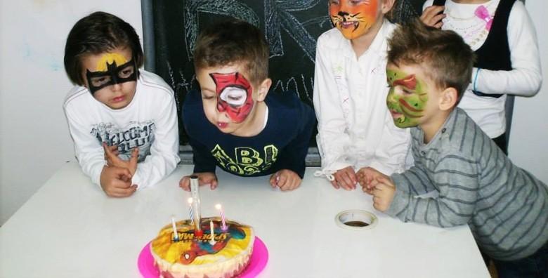 Kreativna rođendaonica M ili XL paket do 15-ero djece - slika 3