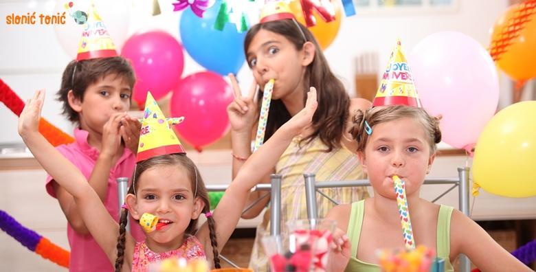 Rođendan po izboru za do 20 djece - 2 sata, torta, animatori