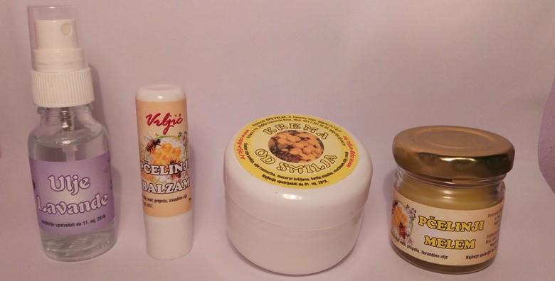 Krema od smilja, ulje lavande, pčelinji balzam i melem - slika 2