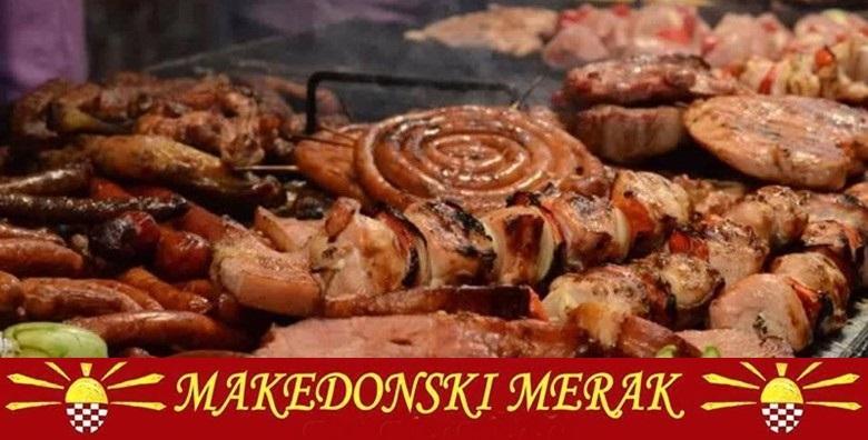[MAKEDONSKI RESTORAN] Mesni uštipci, svinjski ražnjići, pileći prstići, mućkalica, pečeni krumpir i umak za 149 kn!