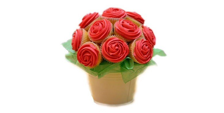 Buket od 10 cupcakea - slika 3