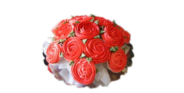 Buket od 10 cupcakea - slika 5