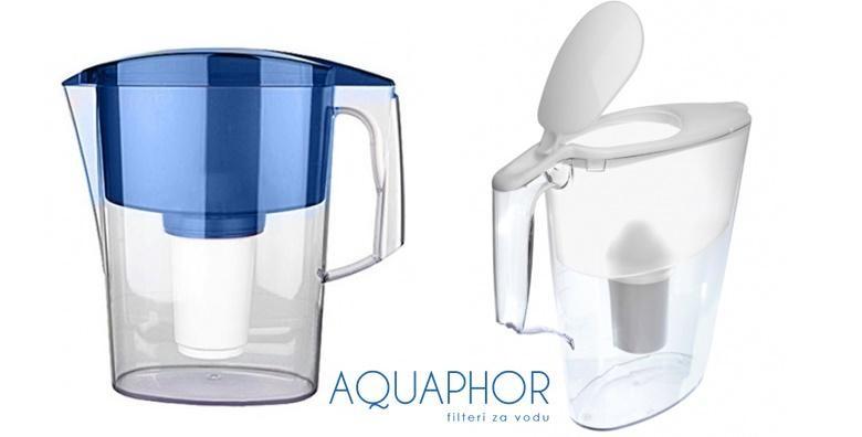 Vrč za pročišćavanje vode s 2 filtera - slika 2