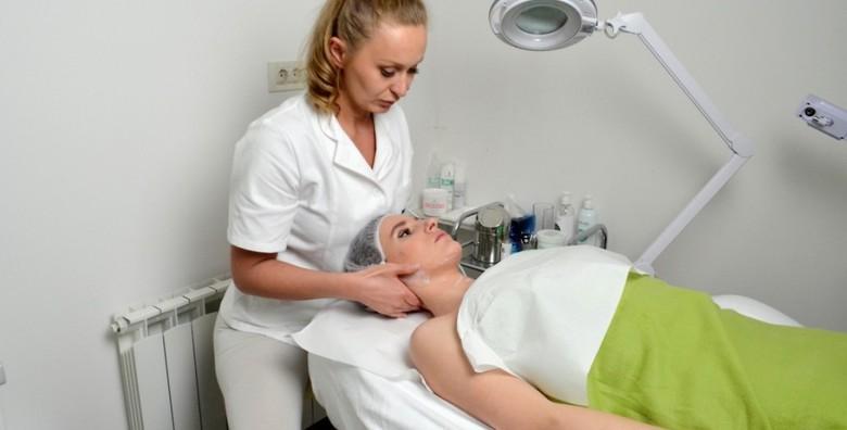 Čišćenje lica uz  piling, visoku frekvenciju, masku - slika 6