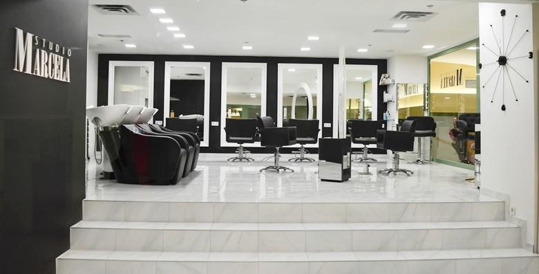 Botox za kosu uz šišanje i fen frizuru u Studiju Marcela - slika 17