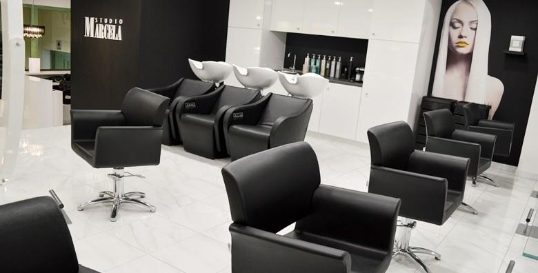 Botox za kosu uz šišanje i fen frizuru u Studiju Marcela - slika 18