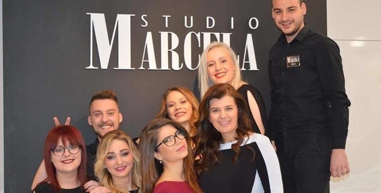 Botox za kosu uz šišanje i fen frizuru u Studiju Marcela - slika 10