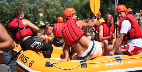 Rafting na Uni, noćenje - slika 3