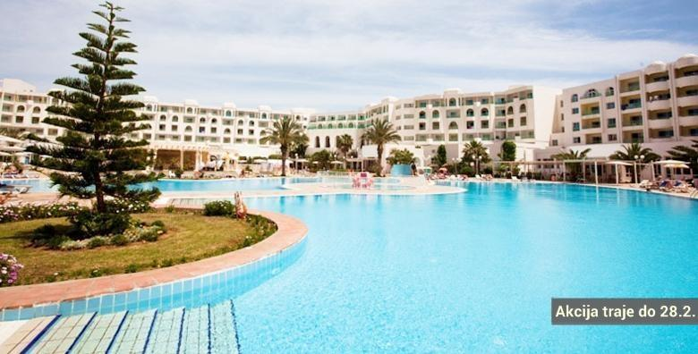 Tunis, Hammamet**** 8 dana all inclusive i let
