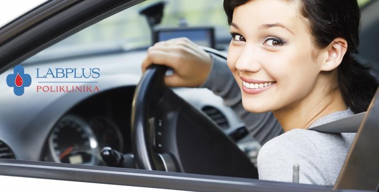 Liječnički pregled za vozačku dozvolu B kategorije u Poliklinici LabPlus za 279 kn!