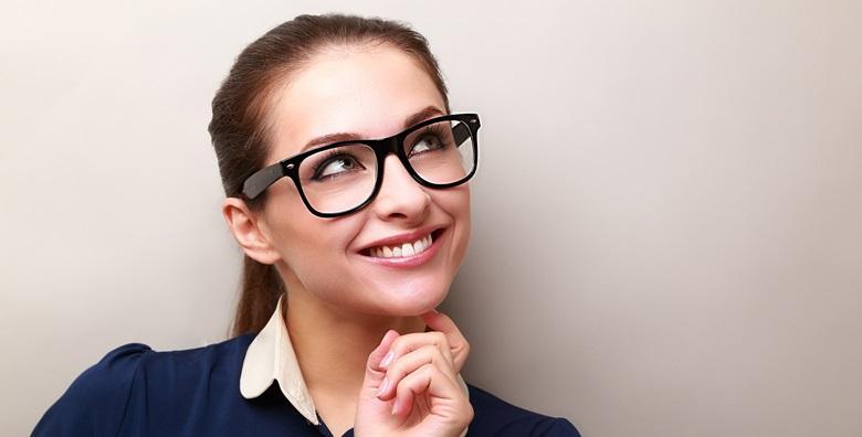 Kompletne progresivne naočale - dioptrijski okvir i višejakosne Essilor leće uz garanciju na prilagodbu za 1.890 kn!