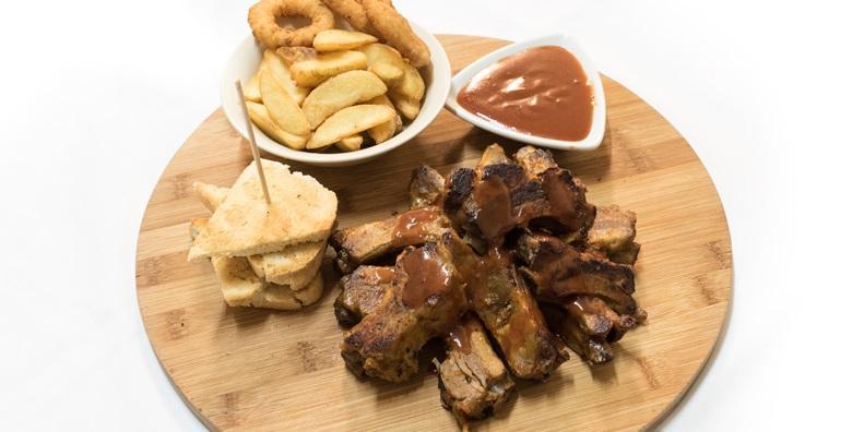 BBQ rebarca i domaći mladi krumpir za dvoje u Restoranu Fuego za 99 kn!