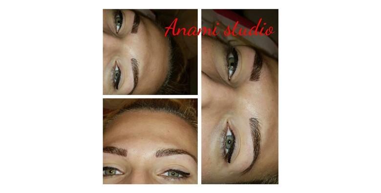 Trajna šmnika - gornji ili donji eyeliner - slika 2