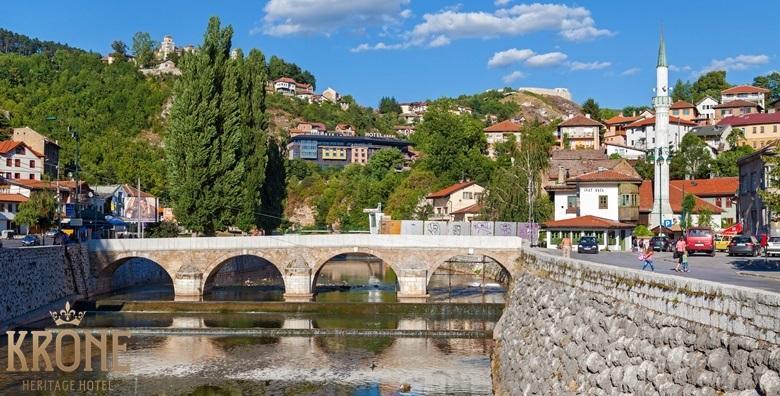 Sarajevo**** - 3 dana s doručkom i korištenjem spa centra