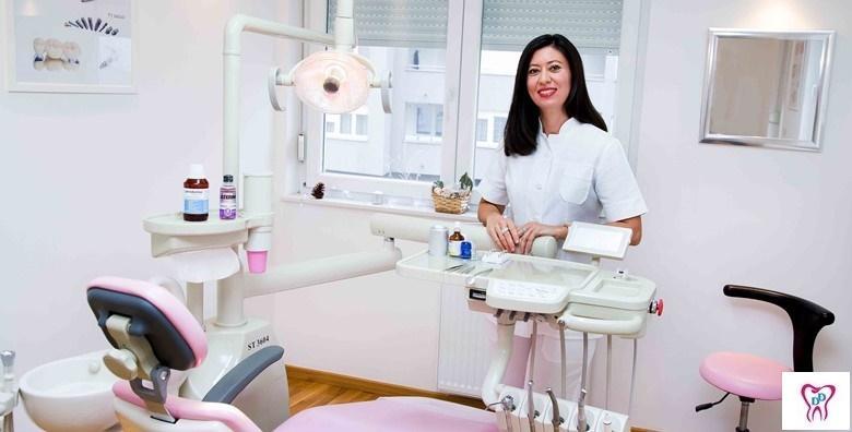 Izbjeljivanje zubi ZOOM tehnologijom, poliranje profesionalnom pastom, čišćenje zubnog kamenca uz pregled i konzultacije za 449 kn!